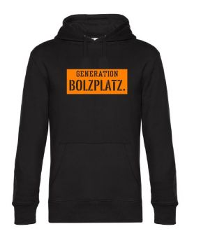 GBP Baller Hoodie -Black/Orange
